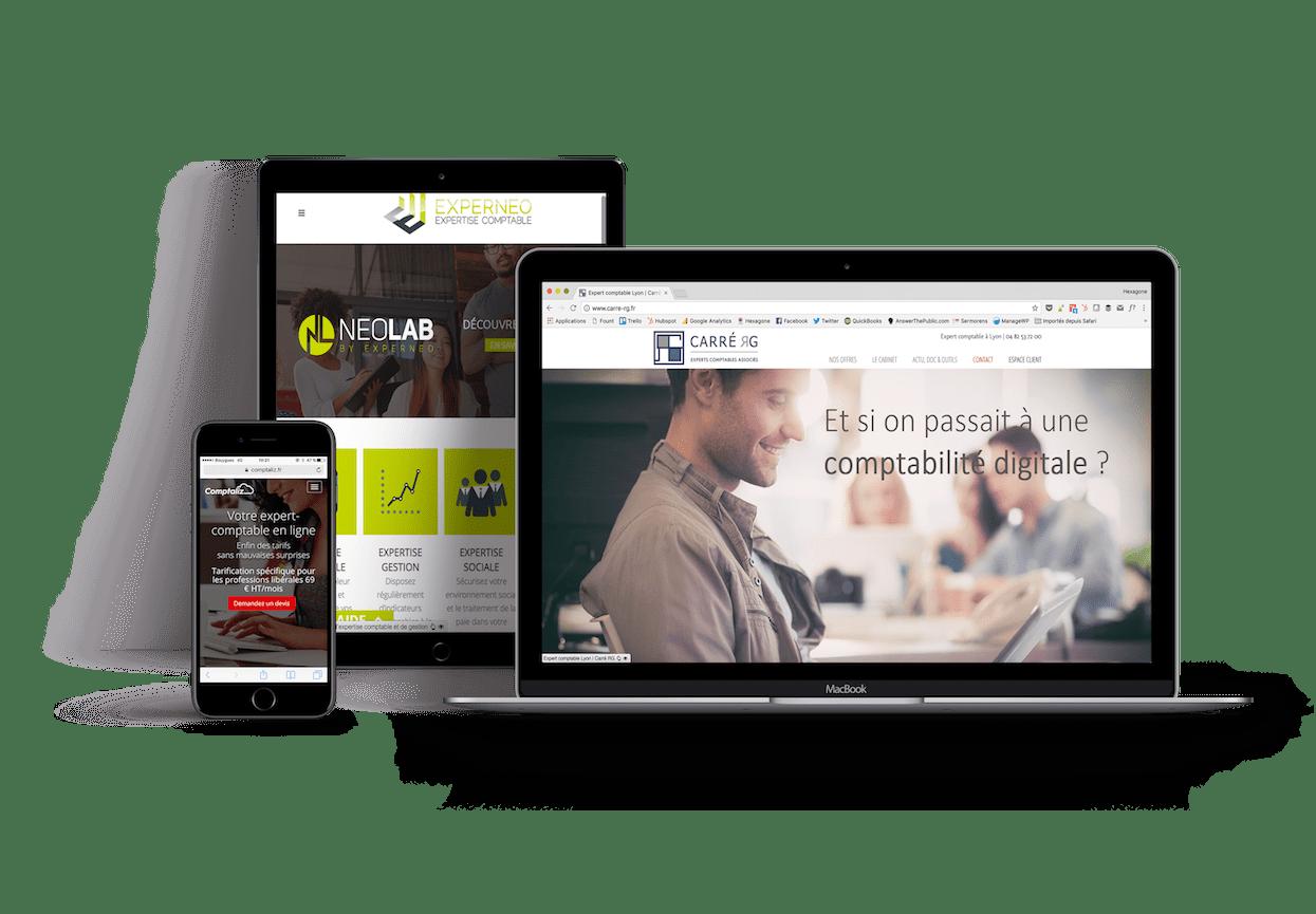 stratégie digitale pour expert comptable avec un site internet