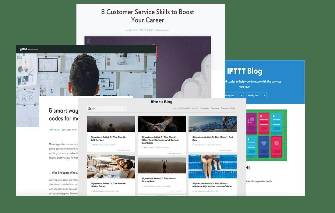 stratégie digitale création de contenu