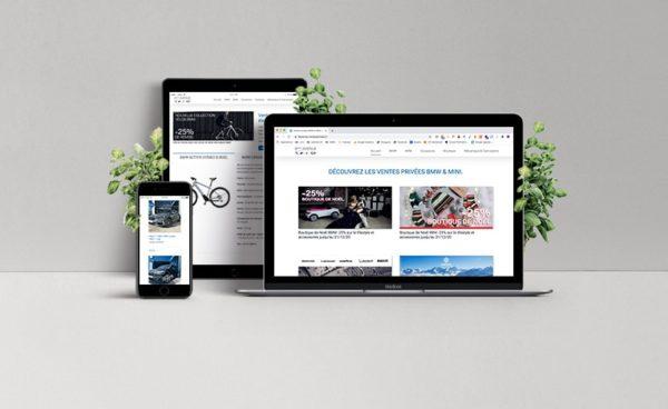 Site internet BMW